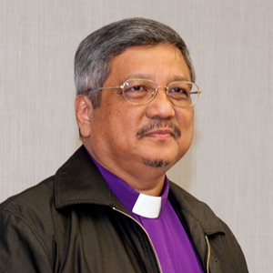 Bishop Emeritus Dr Robert Solomon